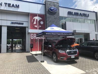 Subaru dealership front entrance