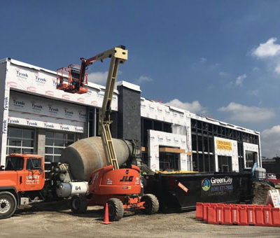 Subaru dealership under construction