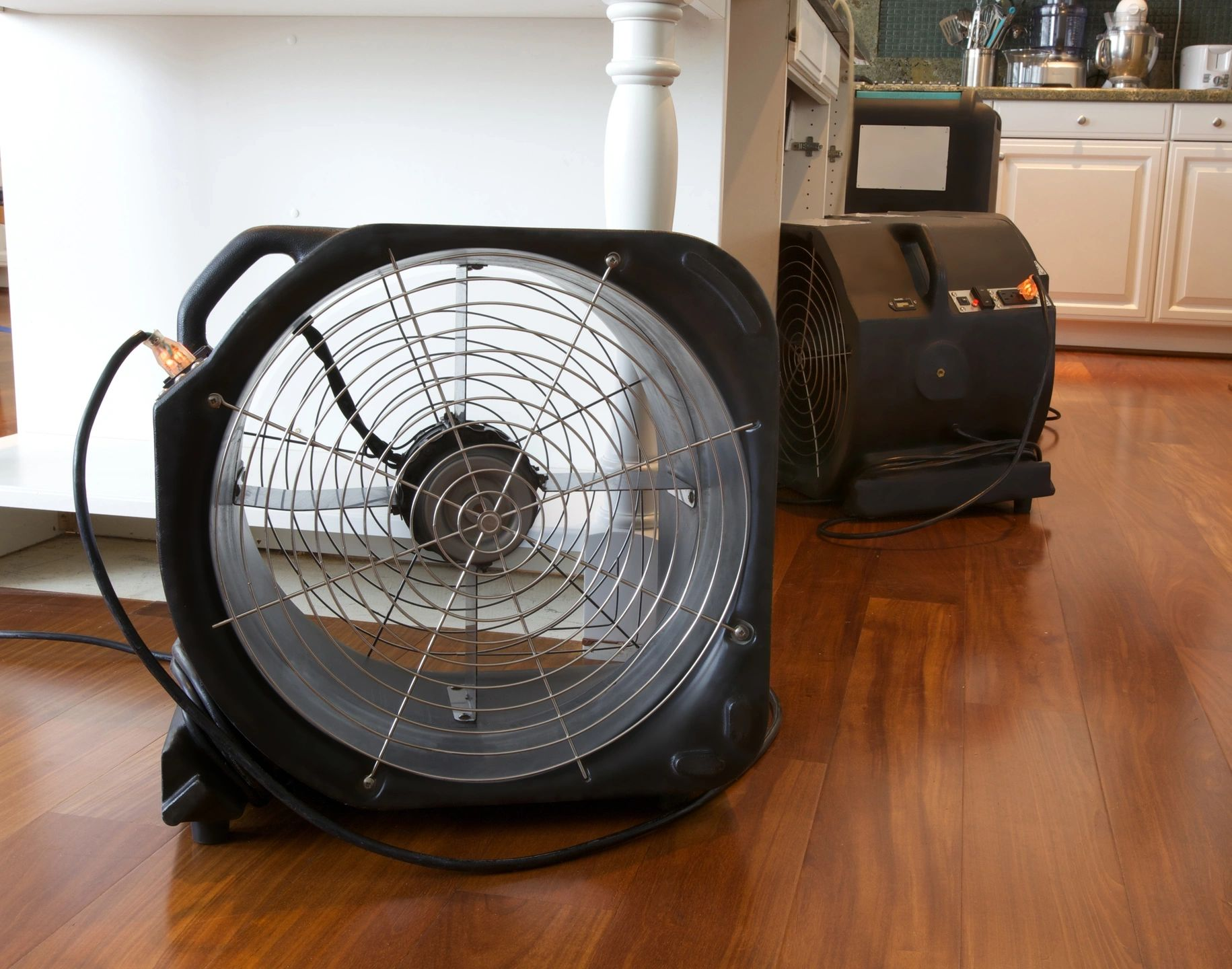 Air mover drying