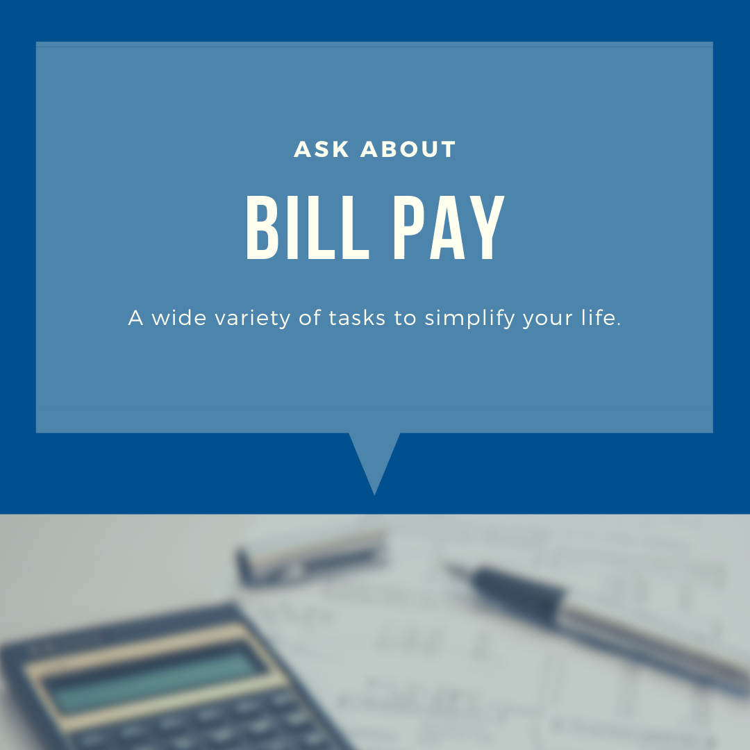 Bill Pay for Seniors