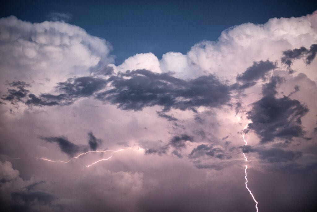 Lightening in the Outer Banks