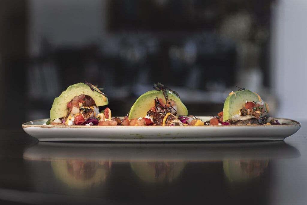 Street tacos, Fish tacos with avocados, pescado street tacos, gluten free fish tacos