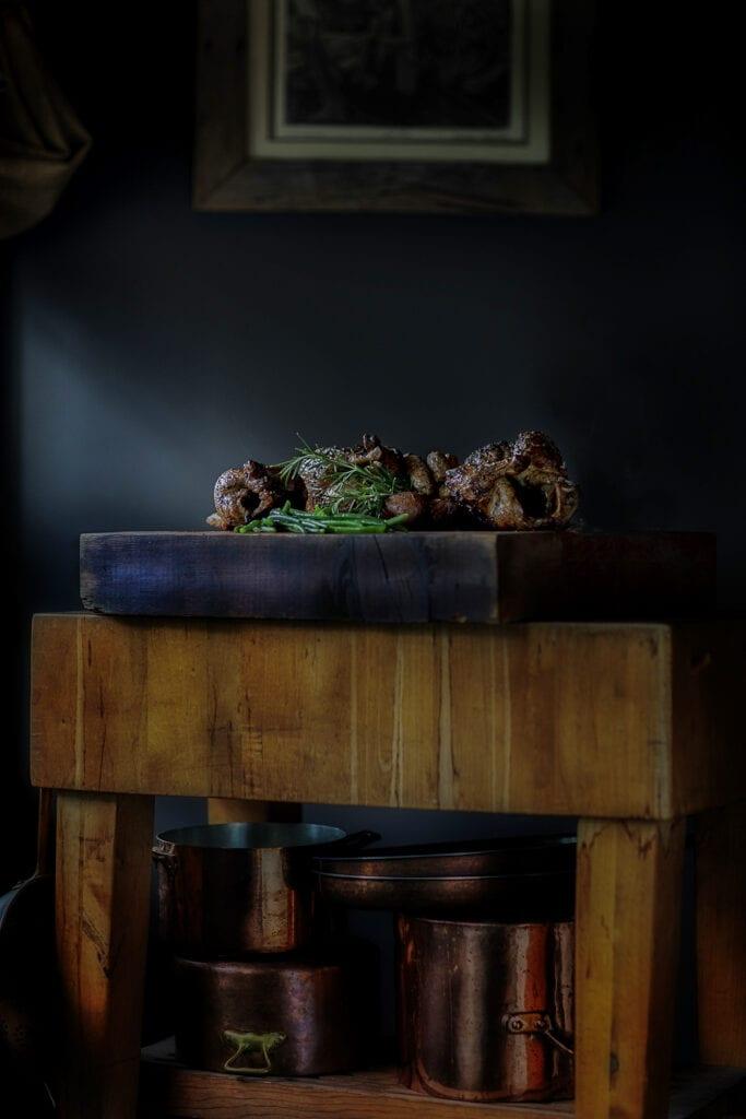 French kitchen, butcher block, Moodys Kitchen Williamsburg Virginia