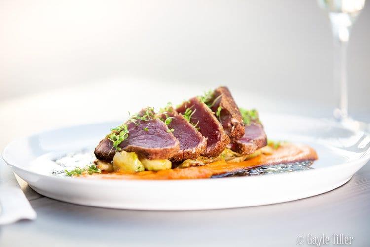 Tuna Sashimi Outer Banks Restaurant