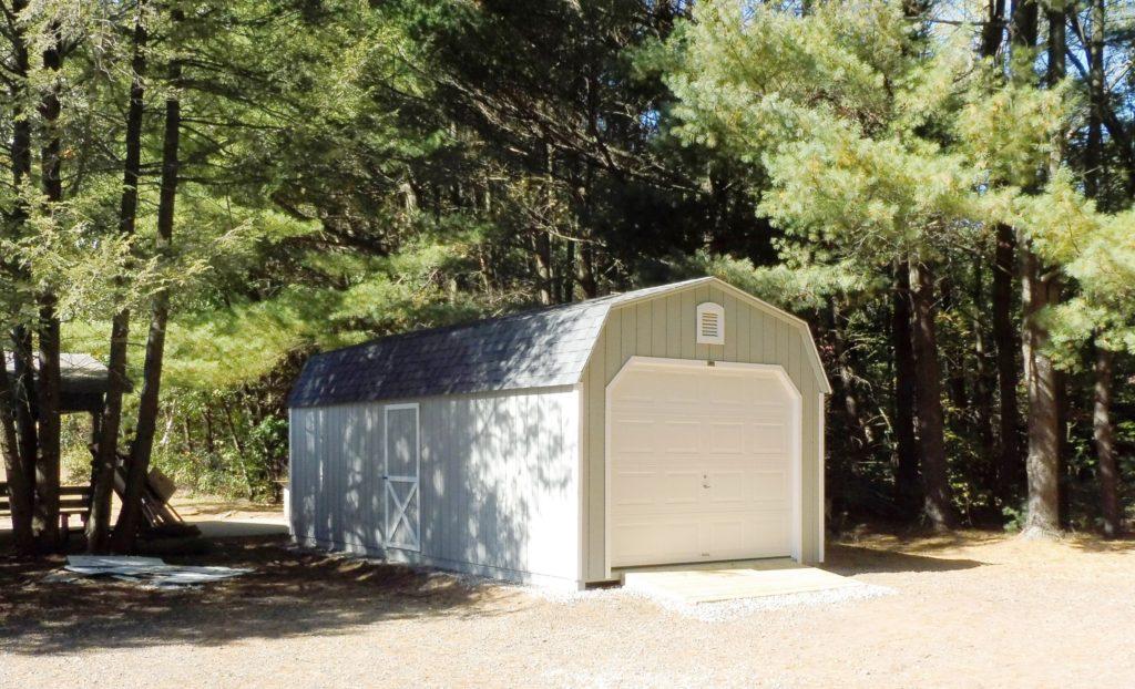 New storage garage