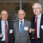 Robert Basseches, Jim Flug, and John Rich, Law Clerks of Judge Bazelon