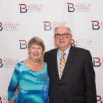 Board Member Marty Tolchin and friend