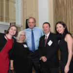 Bethany Lilly, Debbie Plotnick, Board Member Harvey Rosenthal, Paolo del Vecchio, and Kelly Davis