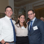 Maura Klugman with Adam Humann and Geoff David of Kirkland and Ellis