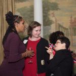 Board Member Glenda Wrenn Gordon, Bethany Lilly, and Liz Weintraub
