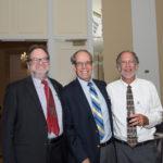 Norm Rosenberg, Len Rubenstein, and Ira Burnim