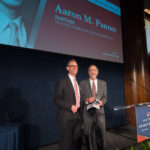 Aaron Panner accepting his award for Outstanding Pro-Bono Lawyer