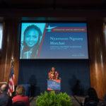 Nyamuon Nguany Machar's acceptance speech