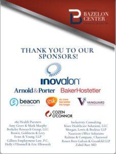 bazelon center sponsors