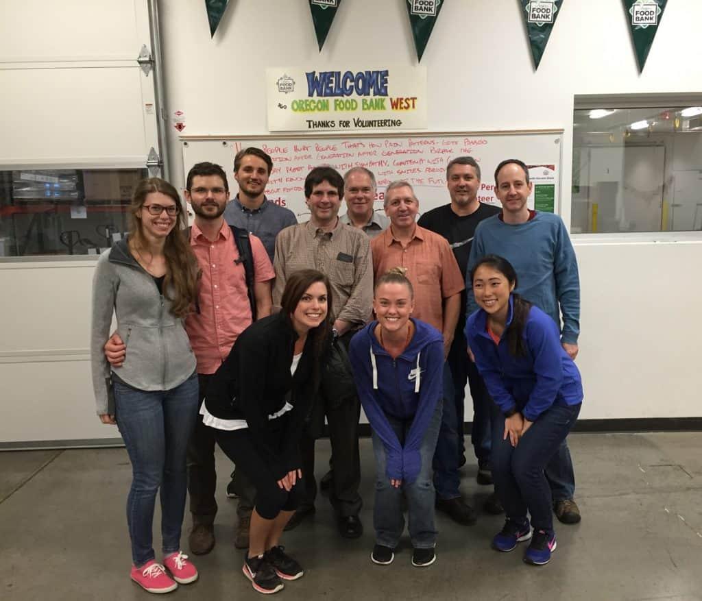 Oregon Food Bank volunteers