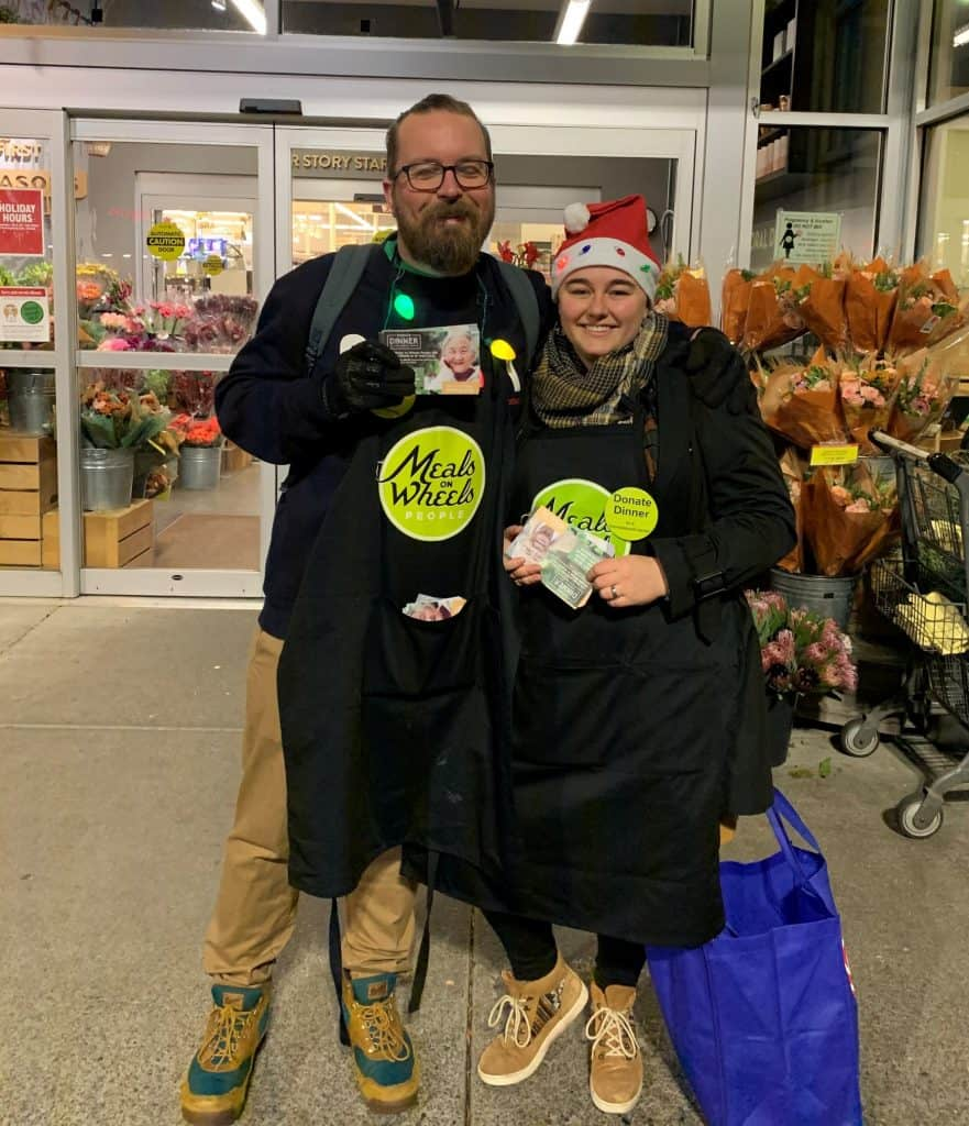 Meals on Wheels Donate Dinner 2019