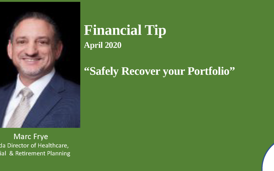 How to safely recover your portfolio – 2020