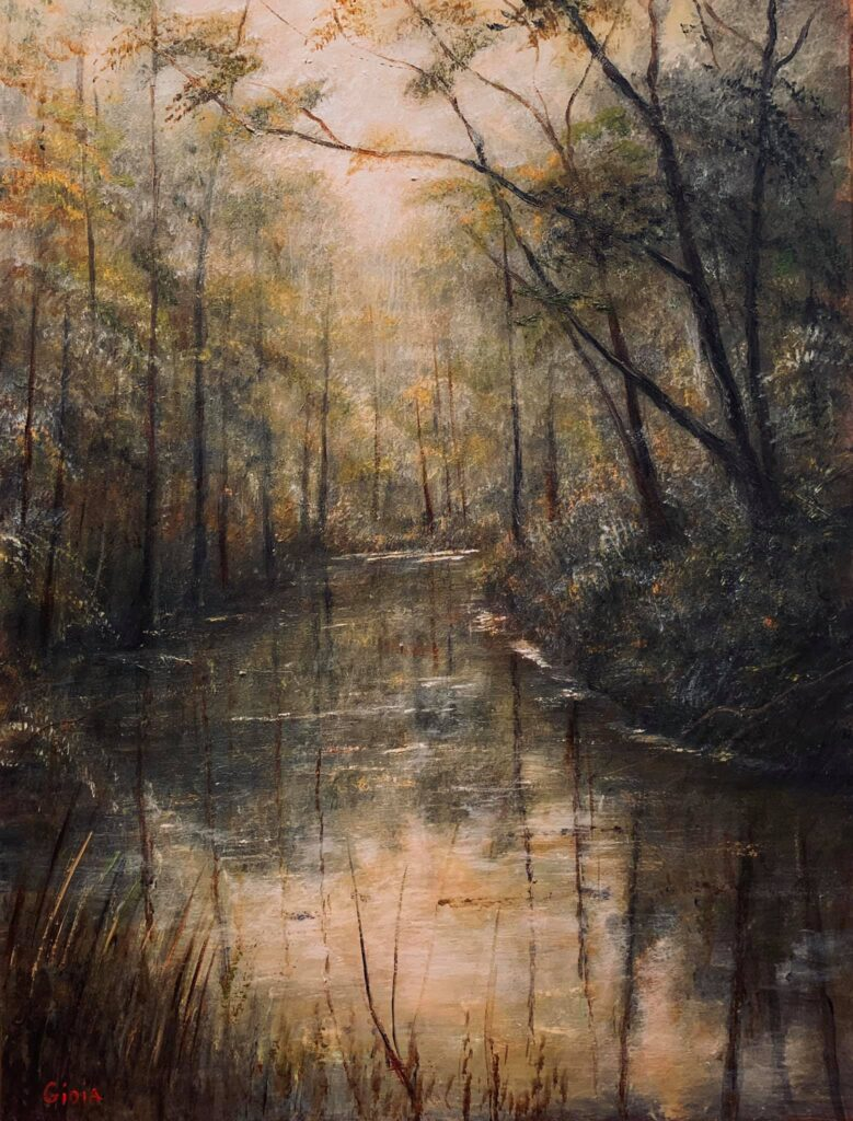 Light on Tired Creek