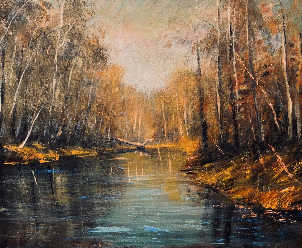 North Florida Creek in Winter