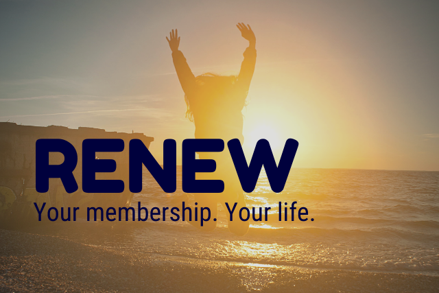 Reminder: Renew Now!