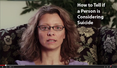How to Tell if a Person is Considering Suicide