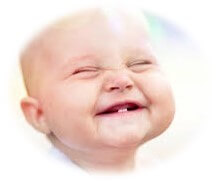 Cute Baby Smiling and Laughing