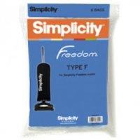 Simplicity Vacuum Cleaner Bag Sku 119477180 Oem SF 6 Sup SF 6