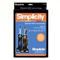 Simplicity Vacuum Cleaner Bag Sku 173796780 Oem SXH 6 Sup SXH 6