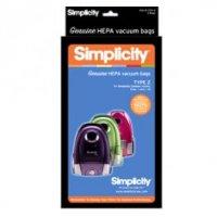 Simplicity Vacuum Cleaner Bag Sku 191342780 Oem SZH 6 Sup SZH 6
