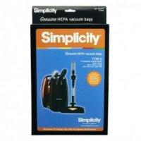 Simplicity Vacuum Cleaner Bag Sku 331598780 Oem SHH 6 Sup SHH 6