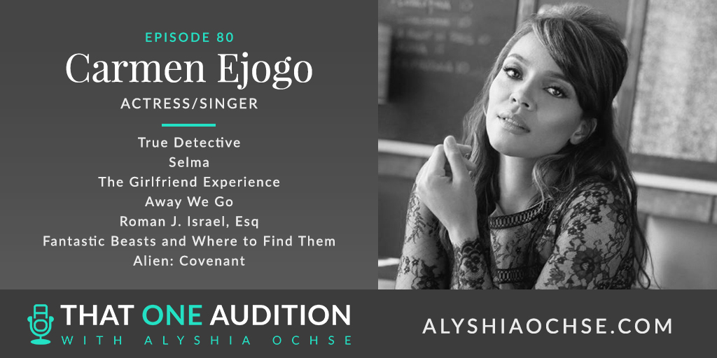 Carmen Ejogo on That One Audition with Alyshia Ochse - Thumbnail