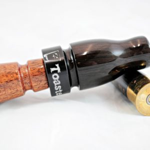 Straight Shot Mallard Call - African Blackwood & Mesquite