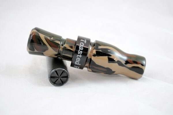 SNS-044 Woodland Camo-Black Exhaust Left
