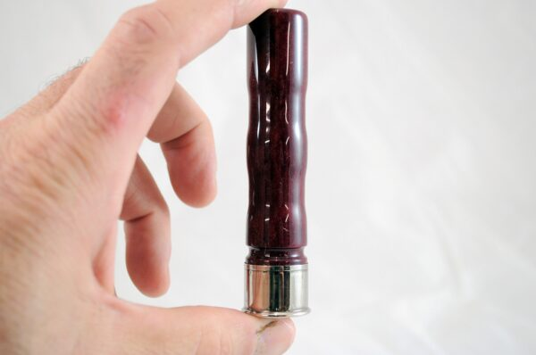 Black Cherry Pearl - Nickel Hand Pinch