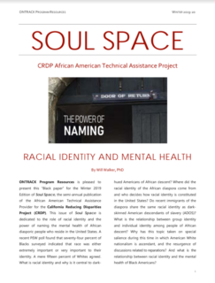 Soul Space: Racial Identity and Mental Health