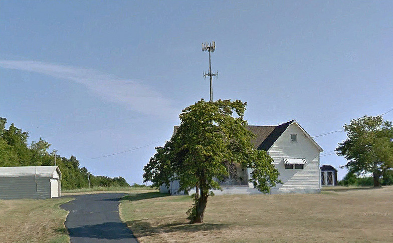 Residential property with cell tower in Springfield Missouri