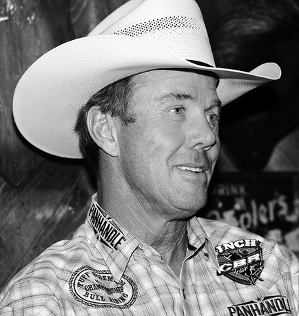 Rodeo Star Tuff Hedeman Up Close