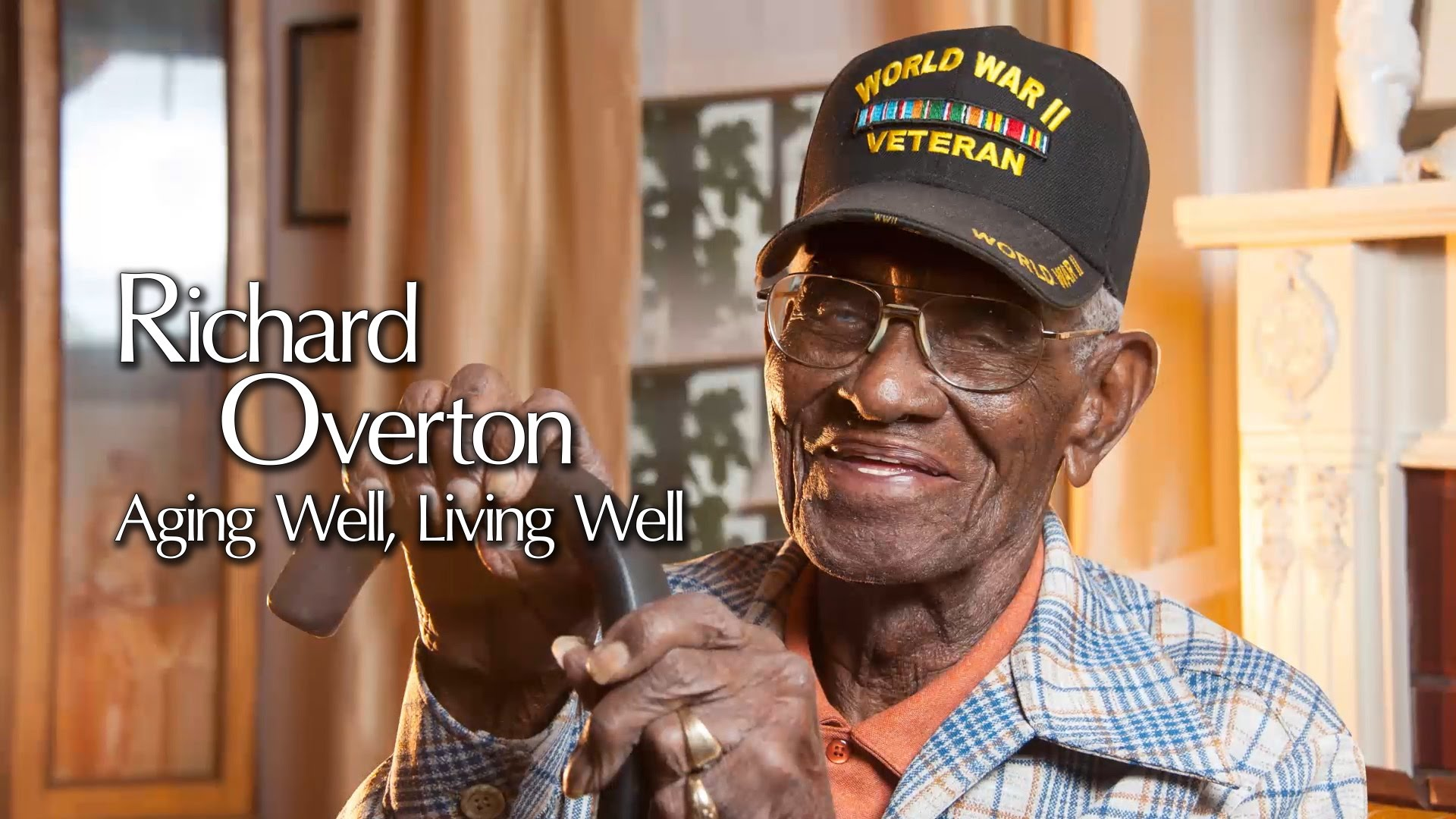America's Oldest Living WWII Veteran Shares His Secret to Staying Young