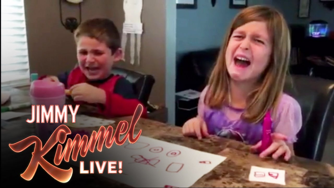"Watch Jimmy Kimmel's Fifth and Funniest Installment of ""I Told My Kids I Ate Their Halloween Candy"""