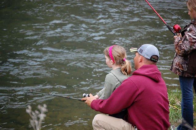Taking Children on Their First Fishing Trip