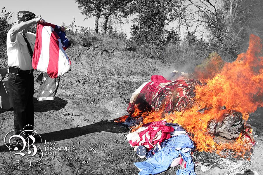 Flag burning 3 copy
