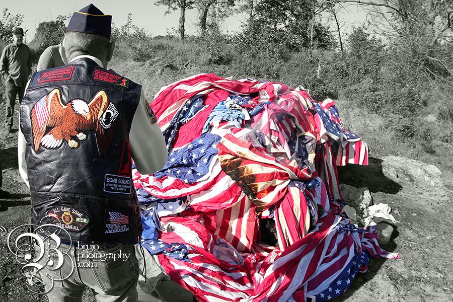 Flag burning 5 bw copy
