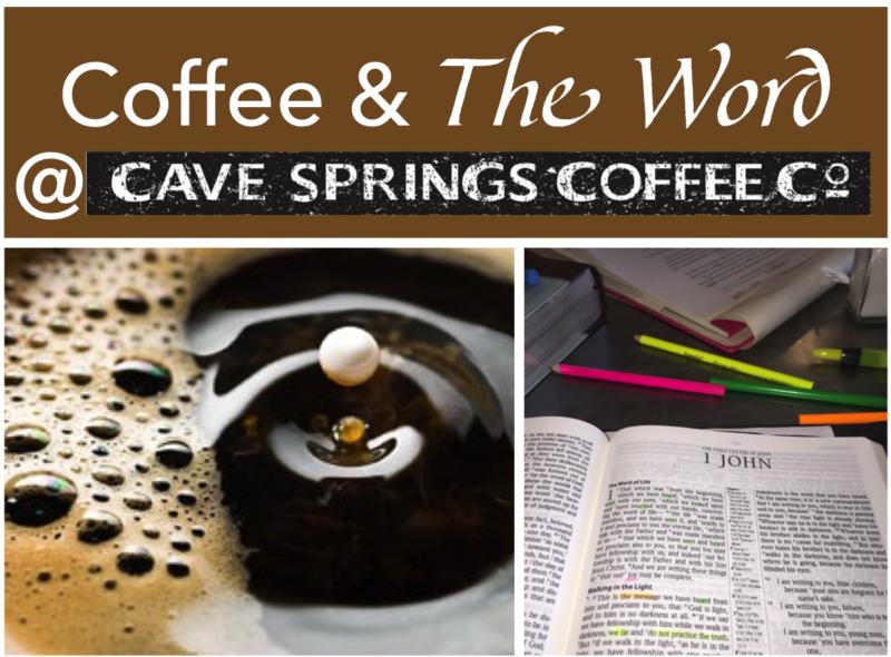 Coffee Shop Bible Study Flyer