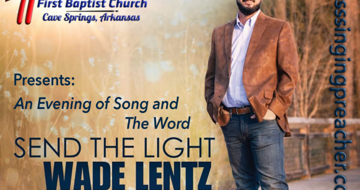 Wade Lentz Send the Light Concert