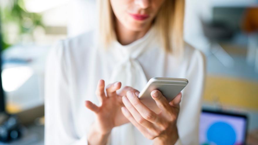 Proper Texting Posture