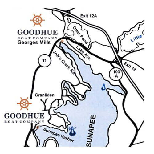 Goodhue Boat Company Location