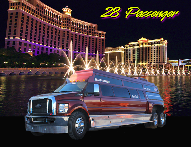 party bus rental las vegas beast