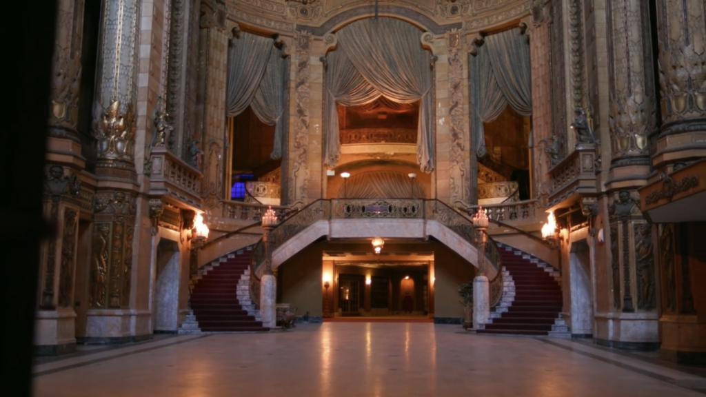 The Uptown Chicago lobby