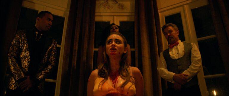 DINNER PARTY_Altar_From Left_Sebastian (Wilson)_Haley Mid (Hart)_Agatha (McCuin)_Carmine (Sage)