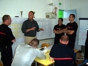 Corsican Fire Department Training